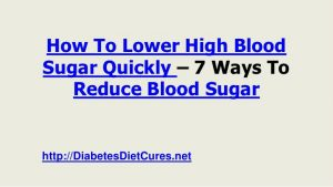 foods to protect yourself from rich in blood glucose